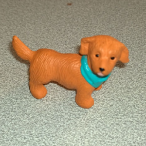 #87 Mattie  Dachshund/German Shepherd mongrel Vintage Puppy in my pocket dogs 1995